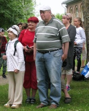 ELKS esimees Vootele Hansen kaaskonnaga
