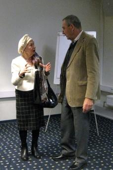 Viktoria Traat ja Toomas Varrak
