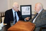 kas muna õpetab...? 90-aastae President jagab näpunäiteid 100-aastasele doktorile