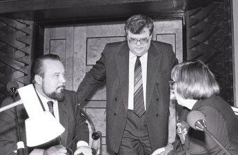 1991 Lauristin, Nugis, Savisaar Ülemnõukogus