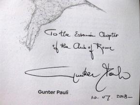 Gunter Pauli pühendus